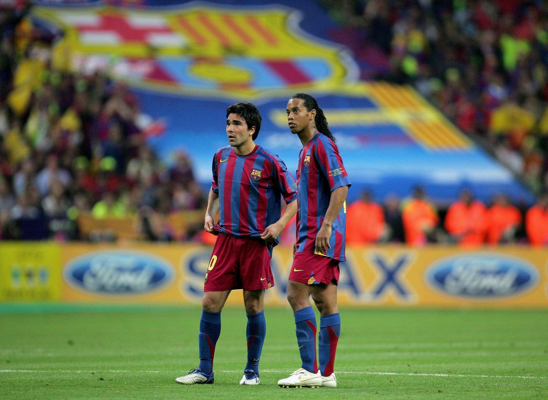 Ronaldinho revela o grande responsável pela sua etapa no Barcelona