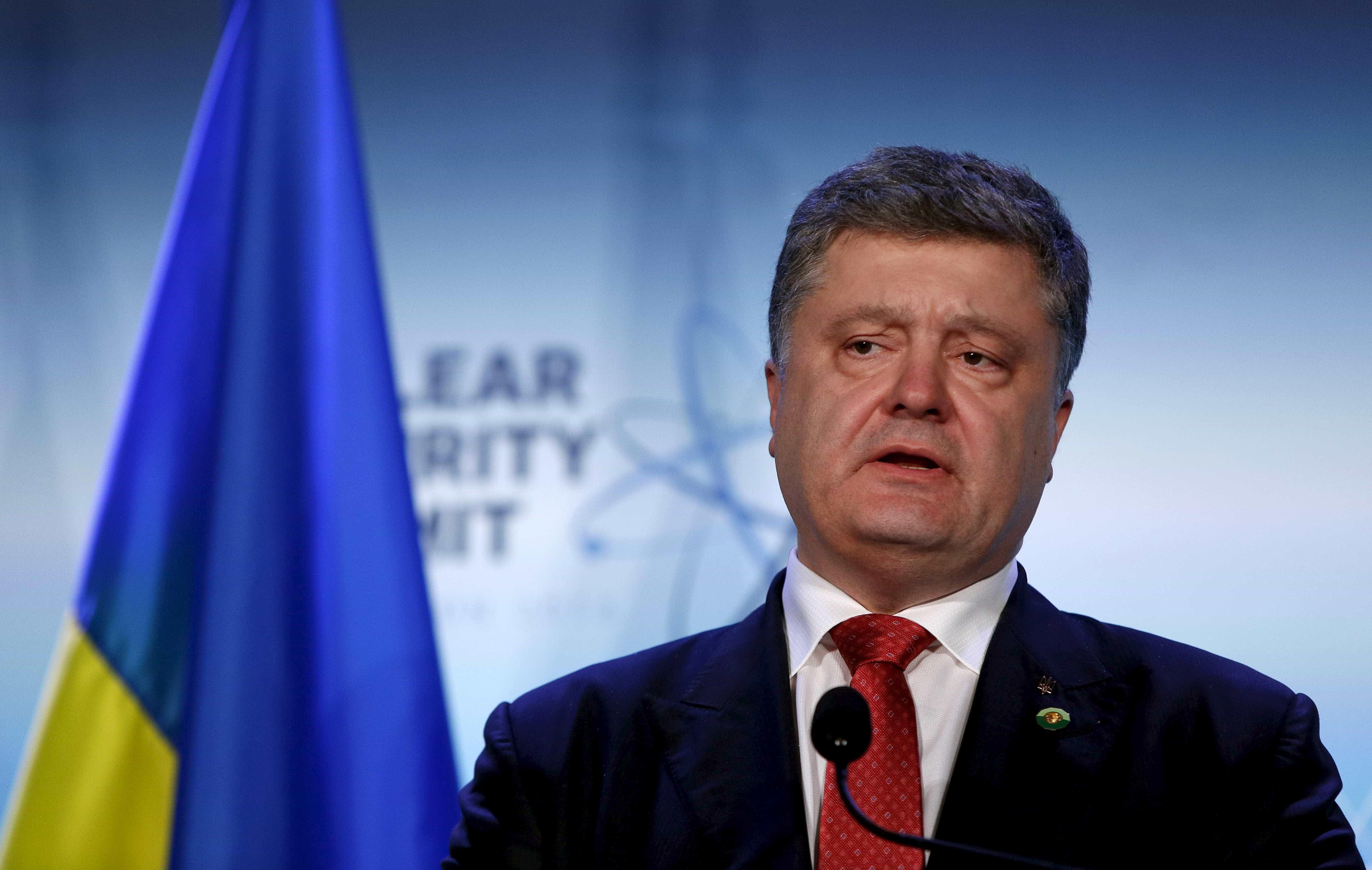 Poroshenko quer aprovação da Lei Marcial para prevenir ataques russos
