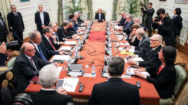 Reunião do Conselho de Estado começou pelas 15h15, com quatro ausências