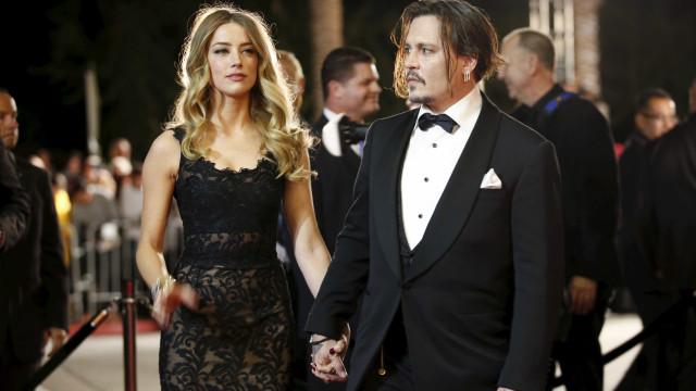 "Amber Heard descreve abusos e chama Johnny Depp de ""monstro"""