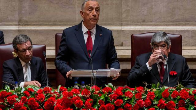 Do populismo às reformas no sistema político. Os alertas de Marcelo