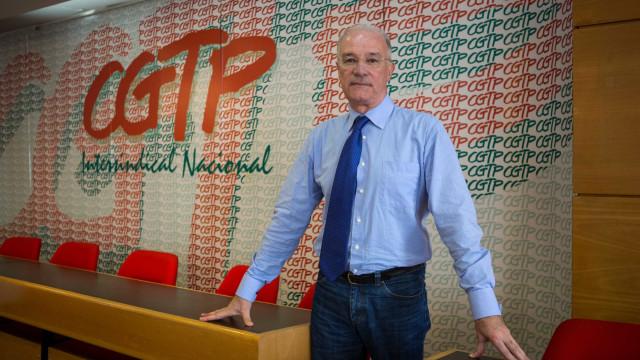 CGTP realiza amanhã manifestação contra revisão das leis laborais