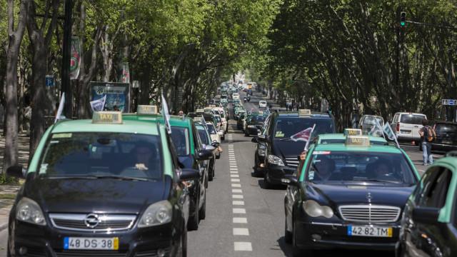Registo de novos táxis limitado a 10 anos e à cor verde e preta