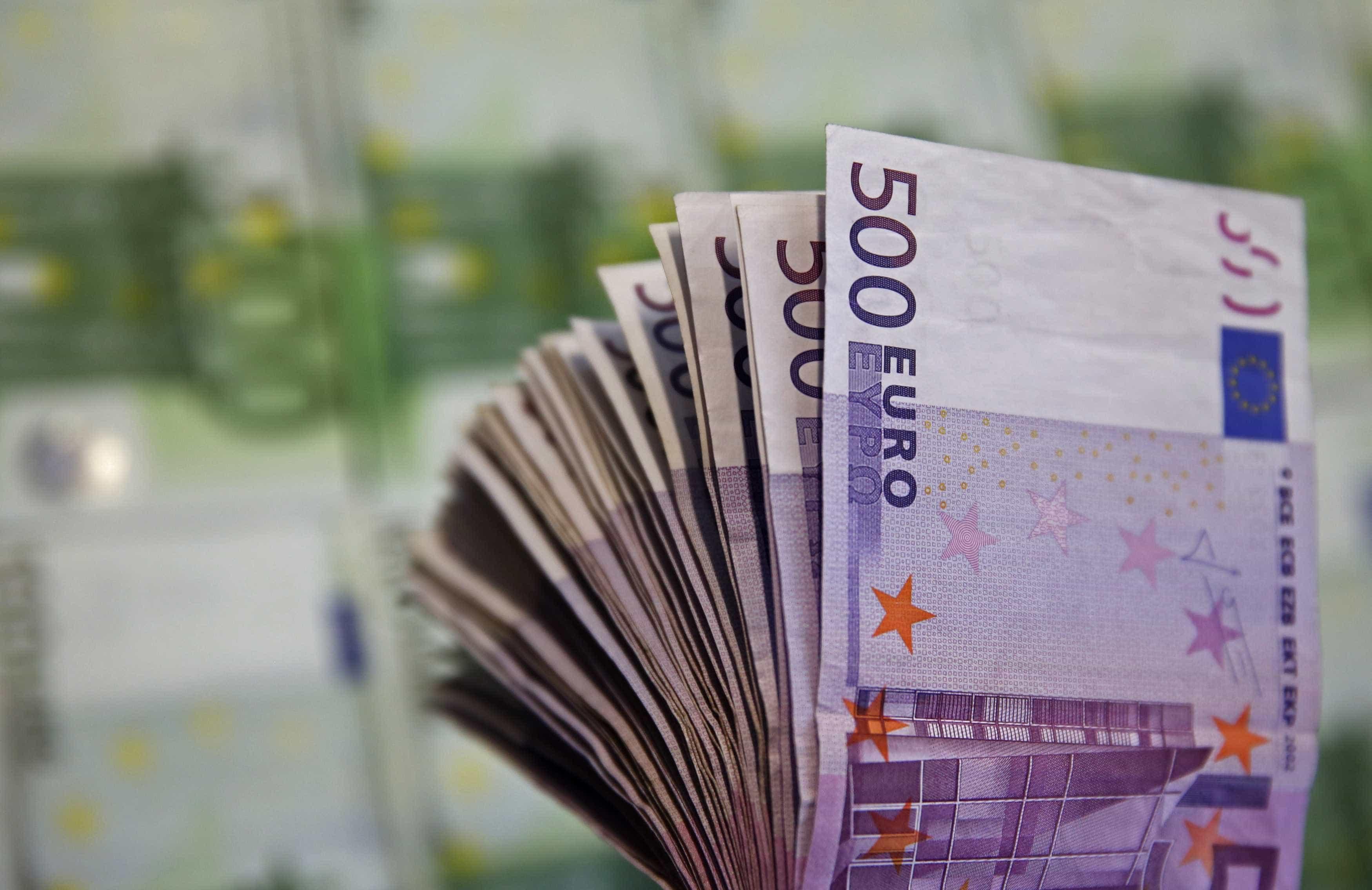 Bancos centrais vão retirar de circulação notas de 500 euros