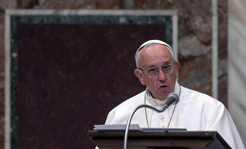 """Papa alerta para a tentação do """"triunfalismo"""" no início da Semana Santa"""