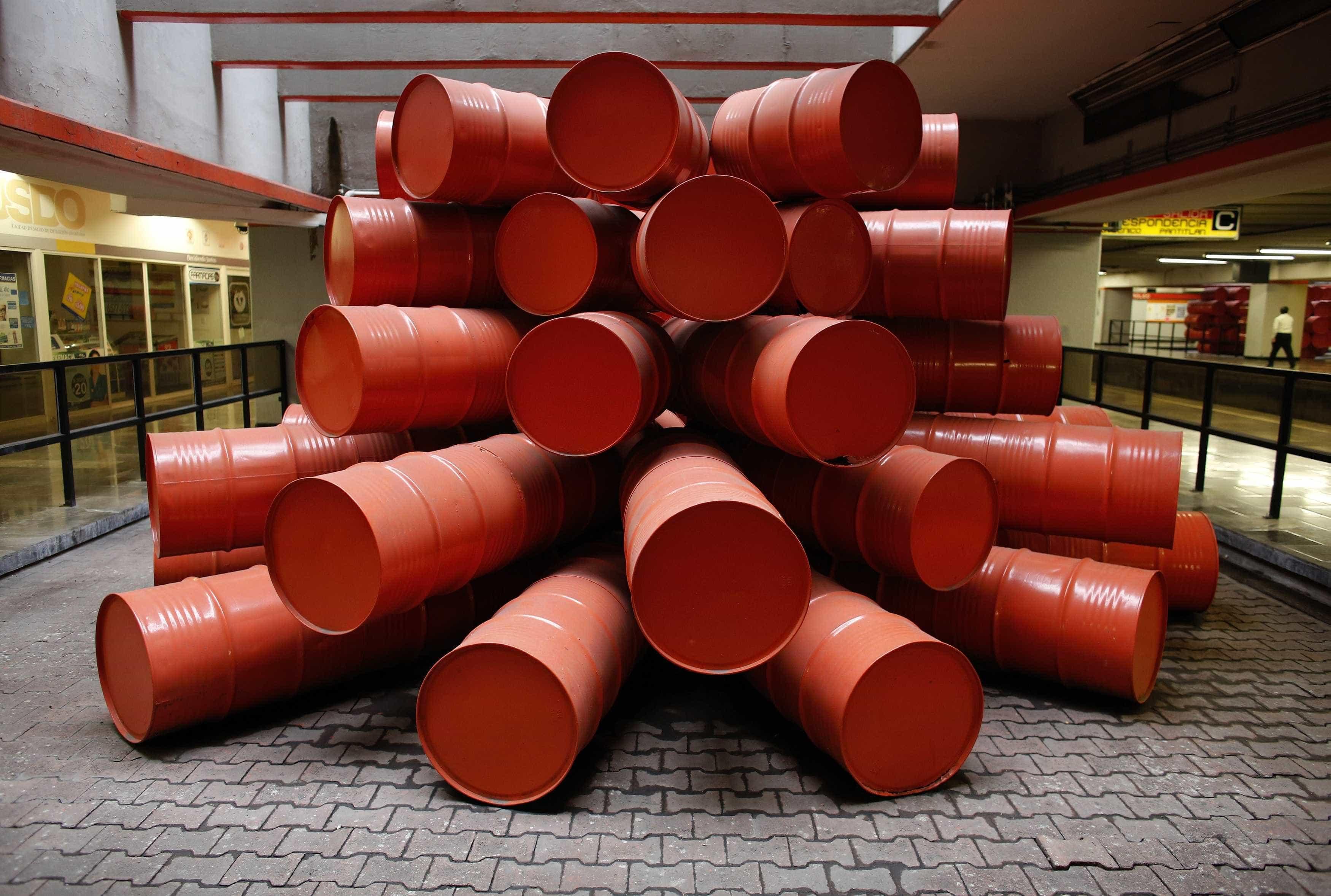 Preço do barril de Brent cai 6,63% para 65,47 dólares