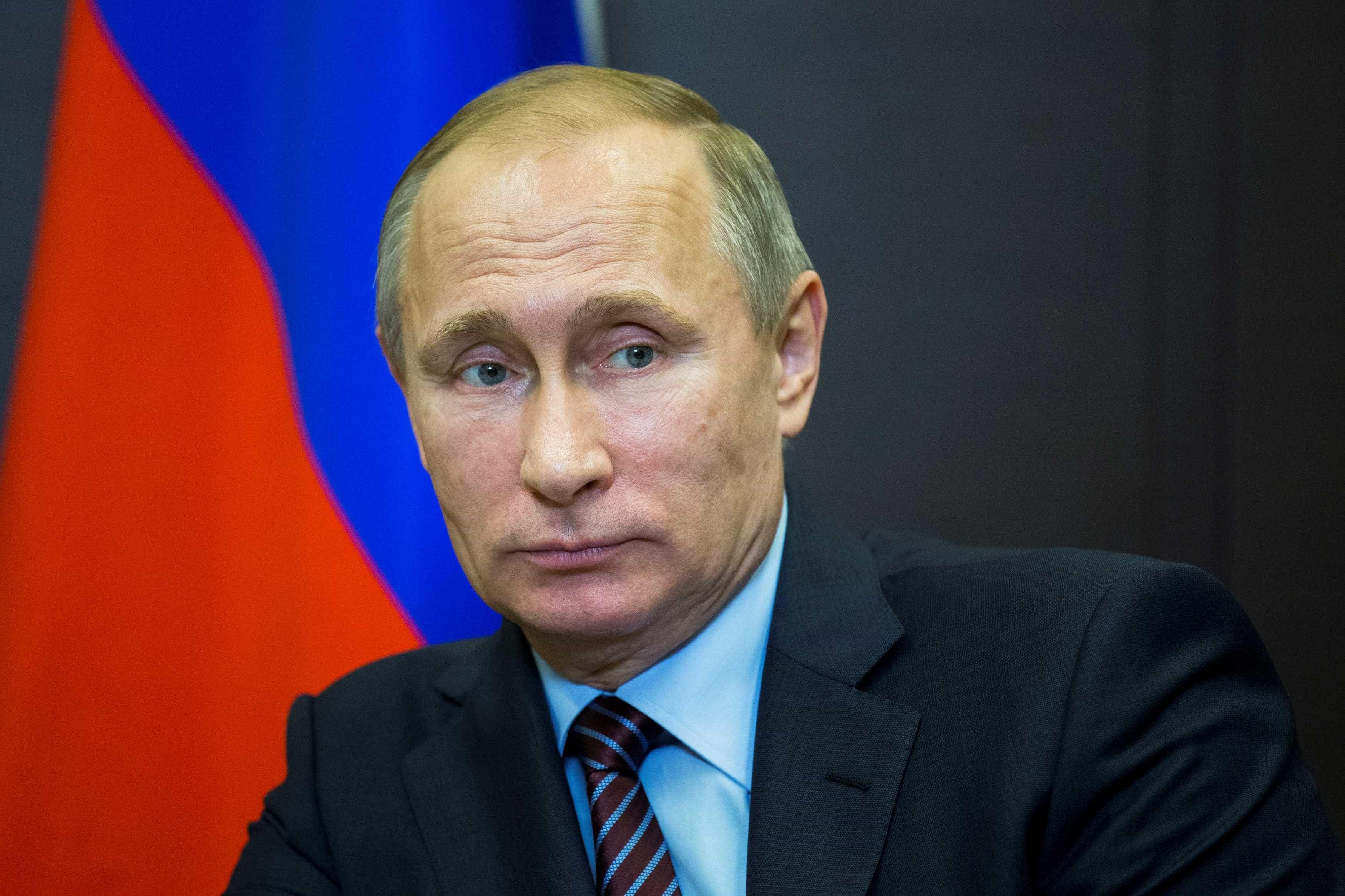 Putin disse que centenas de espiões estrangeiros foram detidos na Rússia