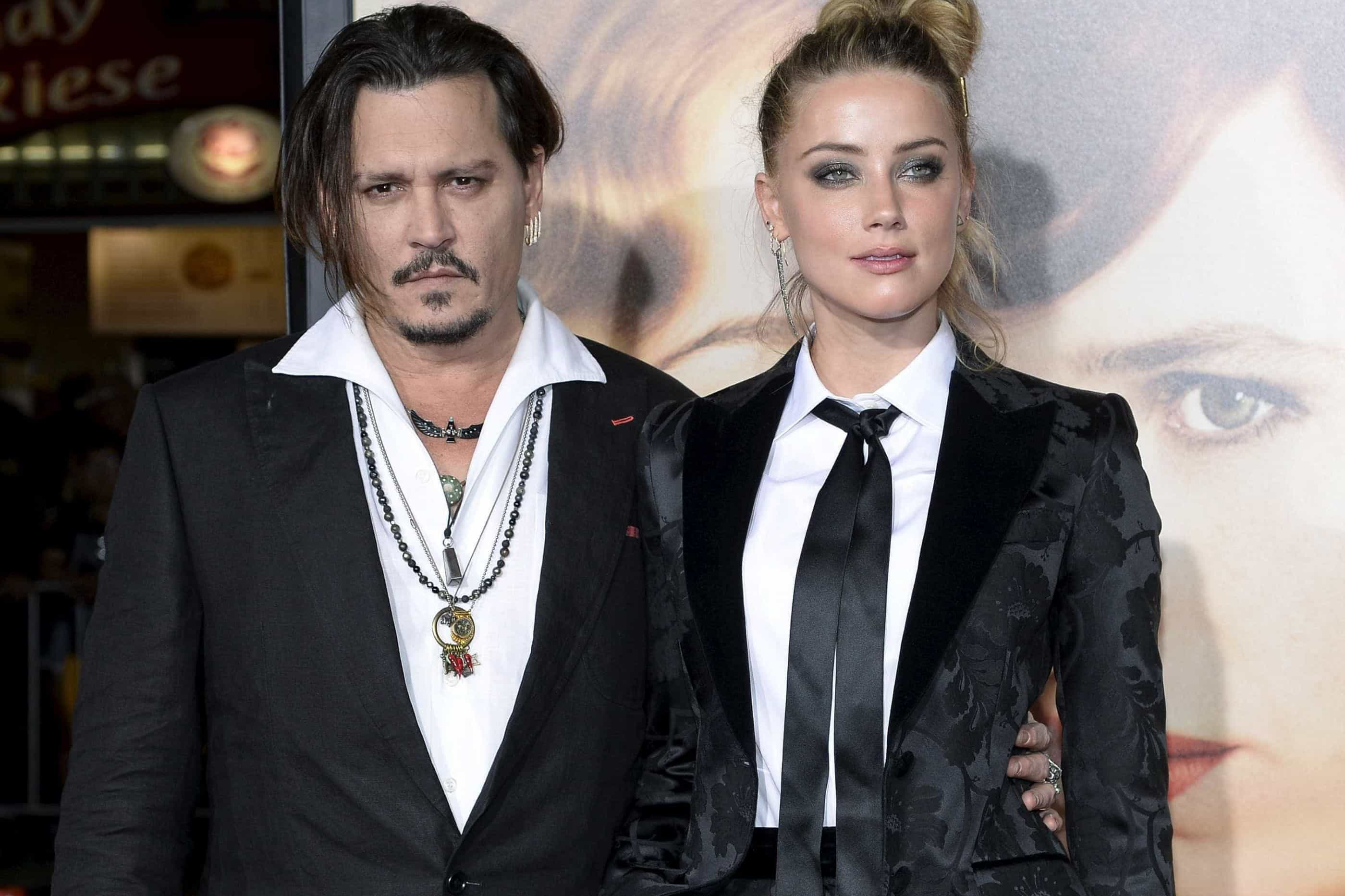 Amber Heard reage as acusações de Johnny Depp