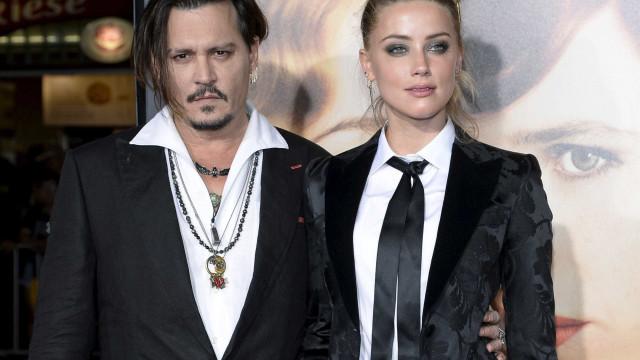 Johnny Depp diz ter provas de que Amber Heard fingiu agressões