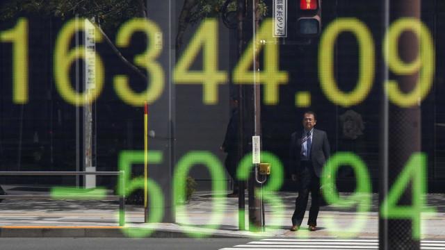Bolsa de Tóquio ganha 1,82% no fecho