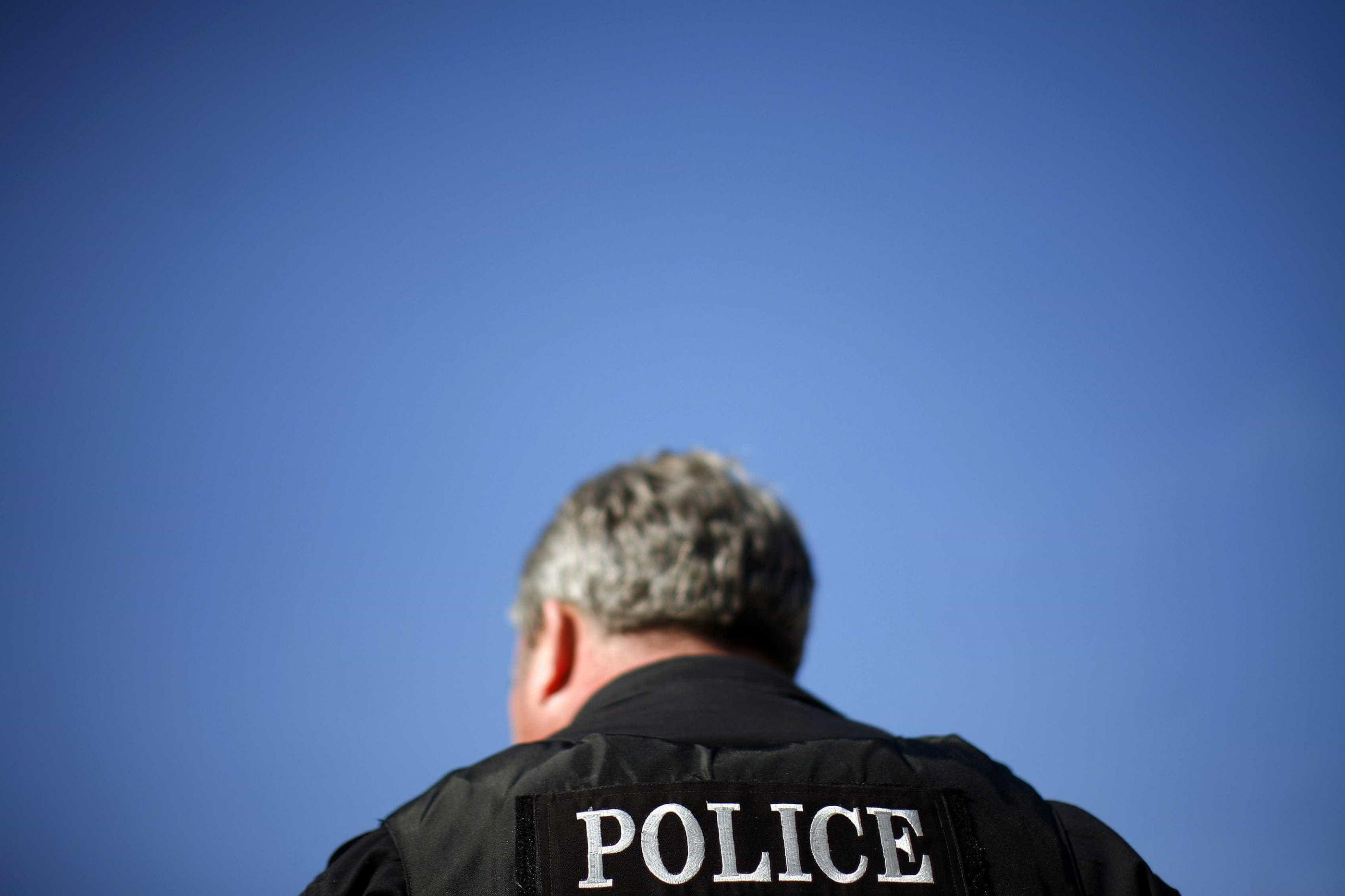 A perseguição de contornos insólitos da polícia da Flórida