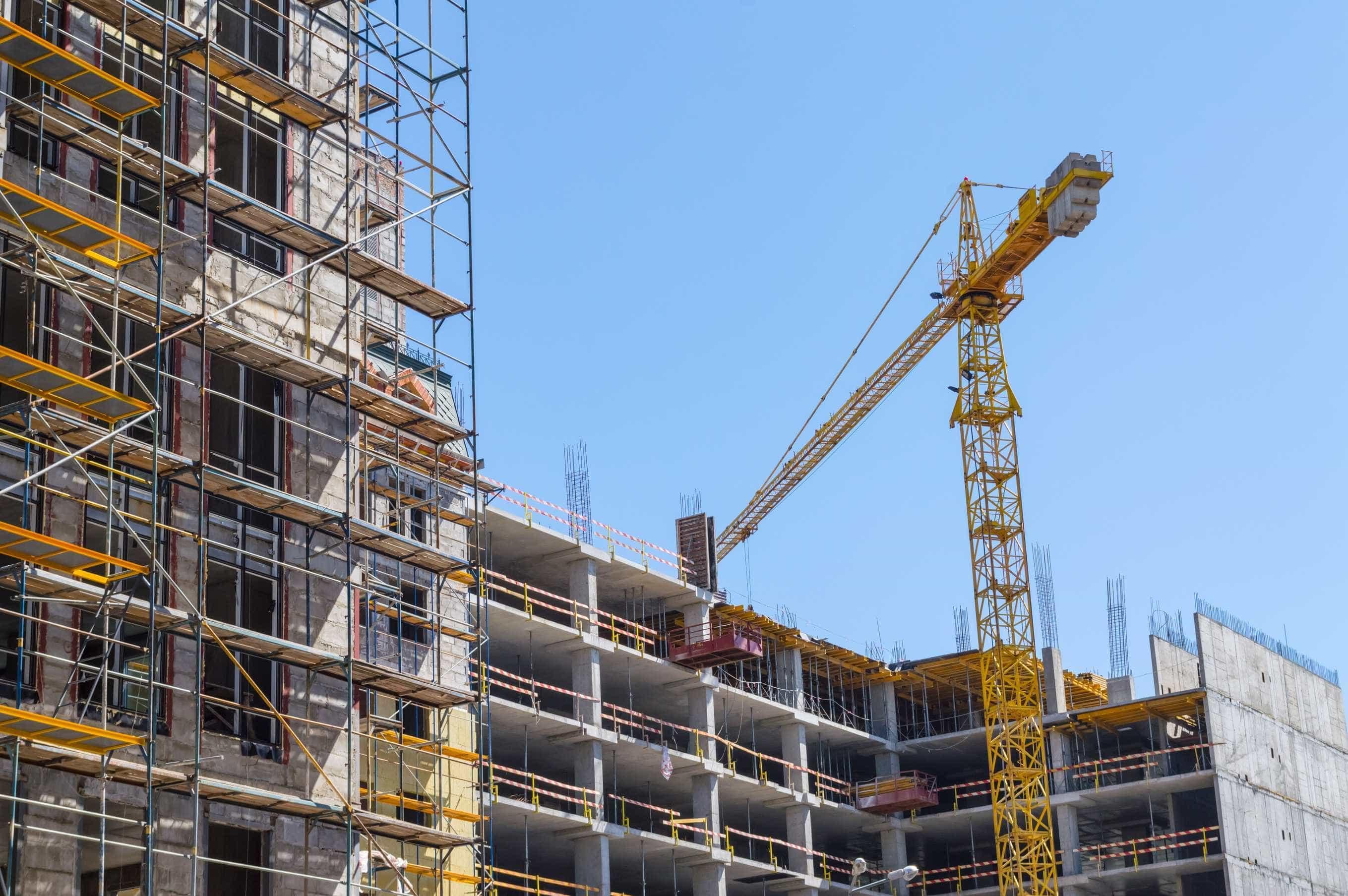 Produção na construção cresceu 4,2% em setembro