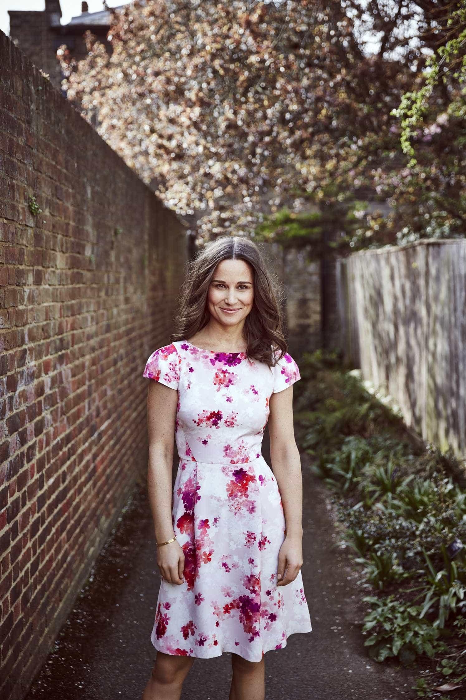 Pippa Middleton exibe boa forma física dois meses após ser mãe