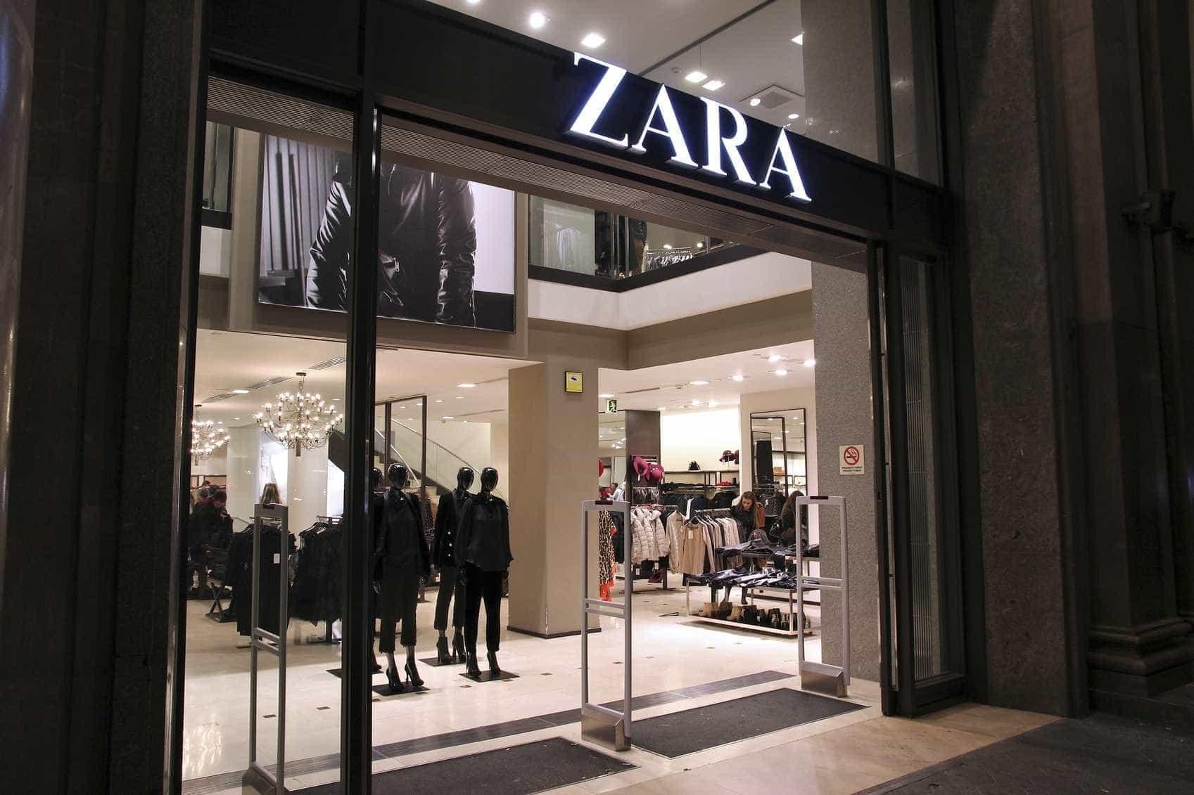Zara estreia-se com novo logótipo na loja online