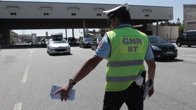 Operação 'Via Livre': 96 condutores apanhados fora da via mais à direita