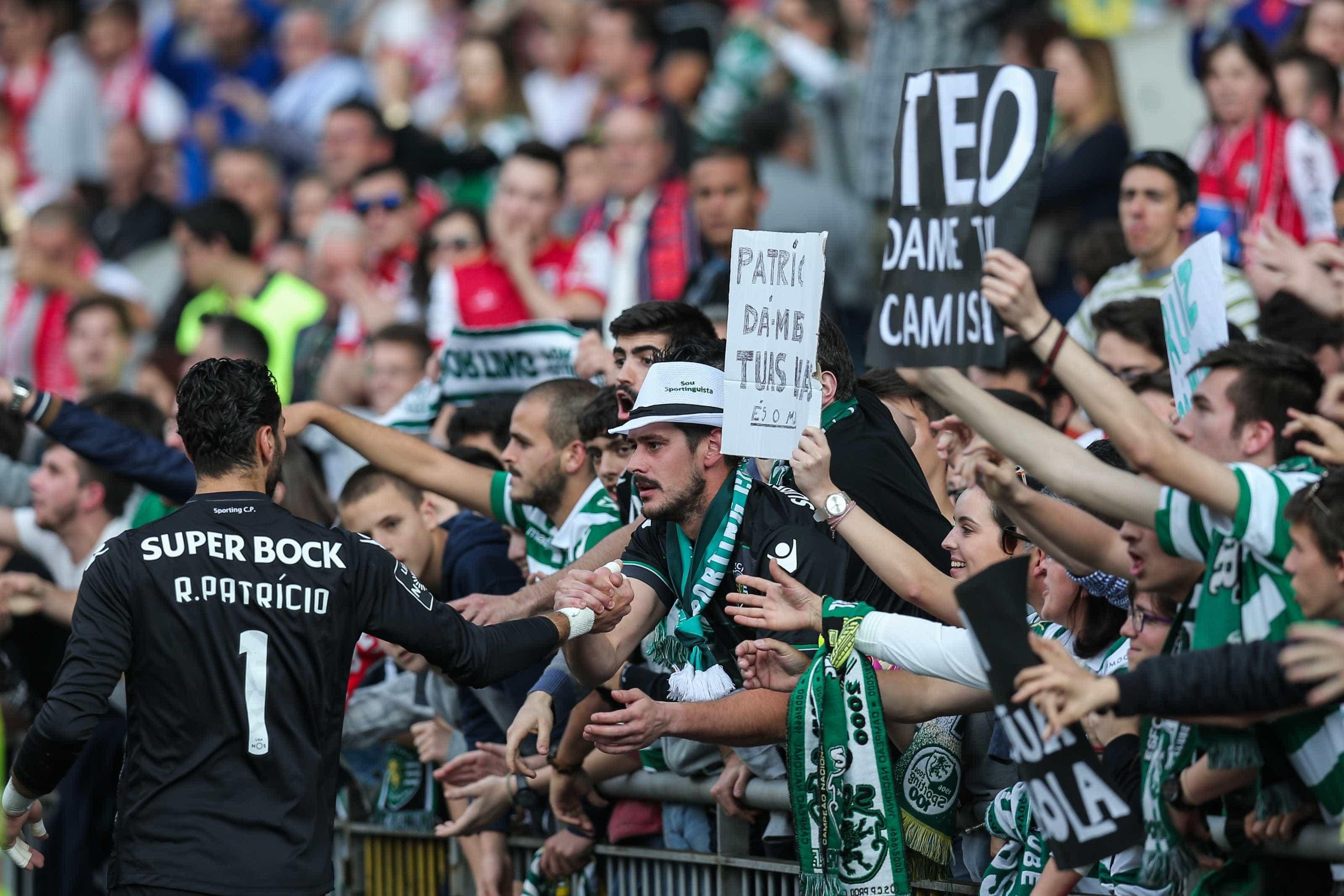 Sporting: Mendes prestes a resolver casos de Patrício e Gelson Martins