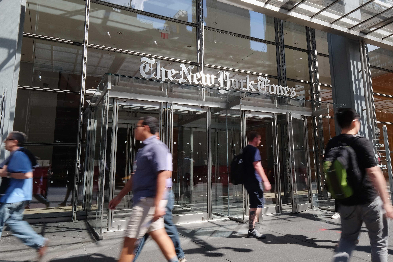 New York Times rejeitou serviço de notícias da Apple