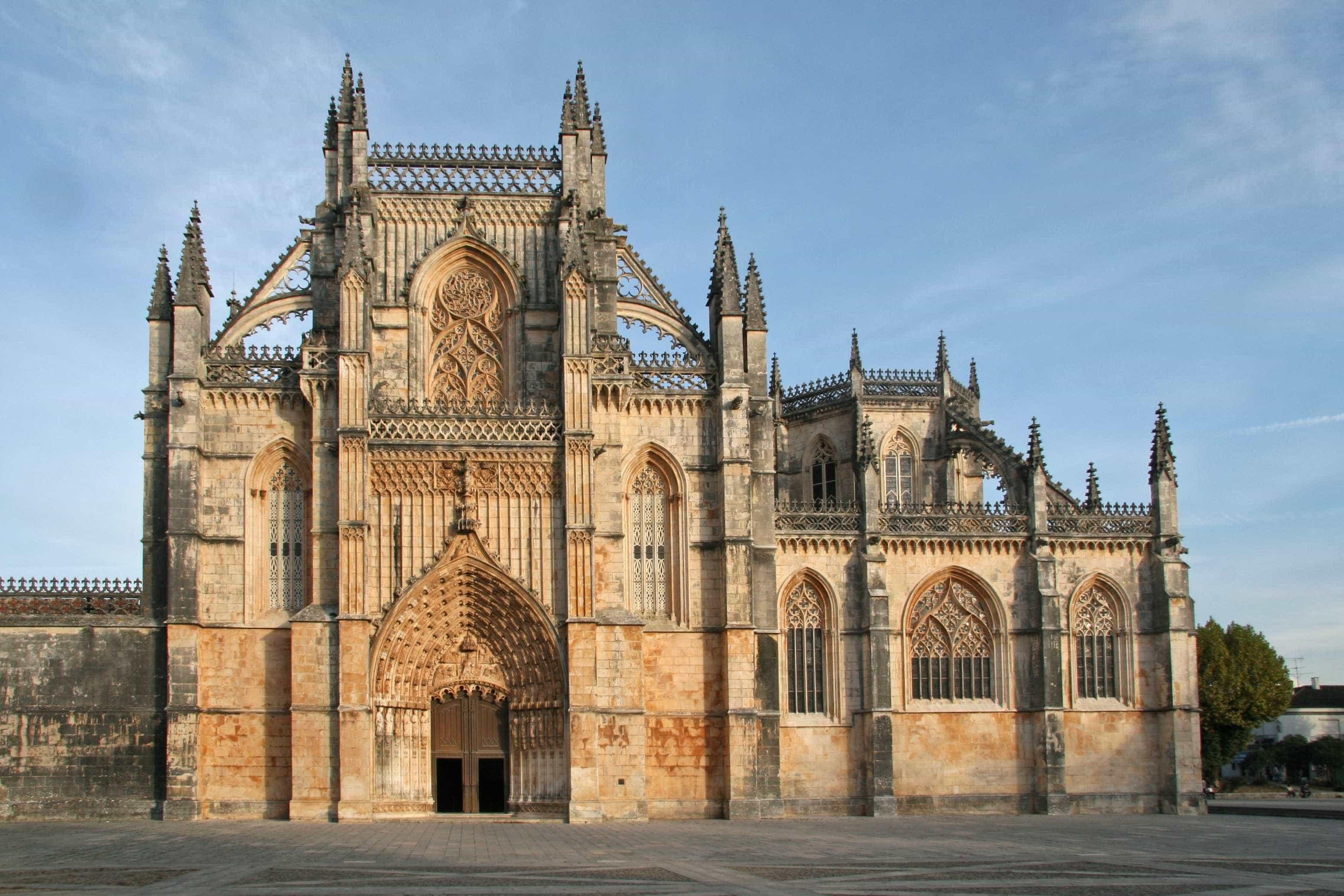 Especialistas do património arquitetónico no Mosteiro da Batalha