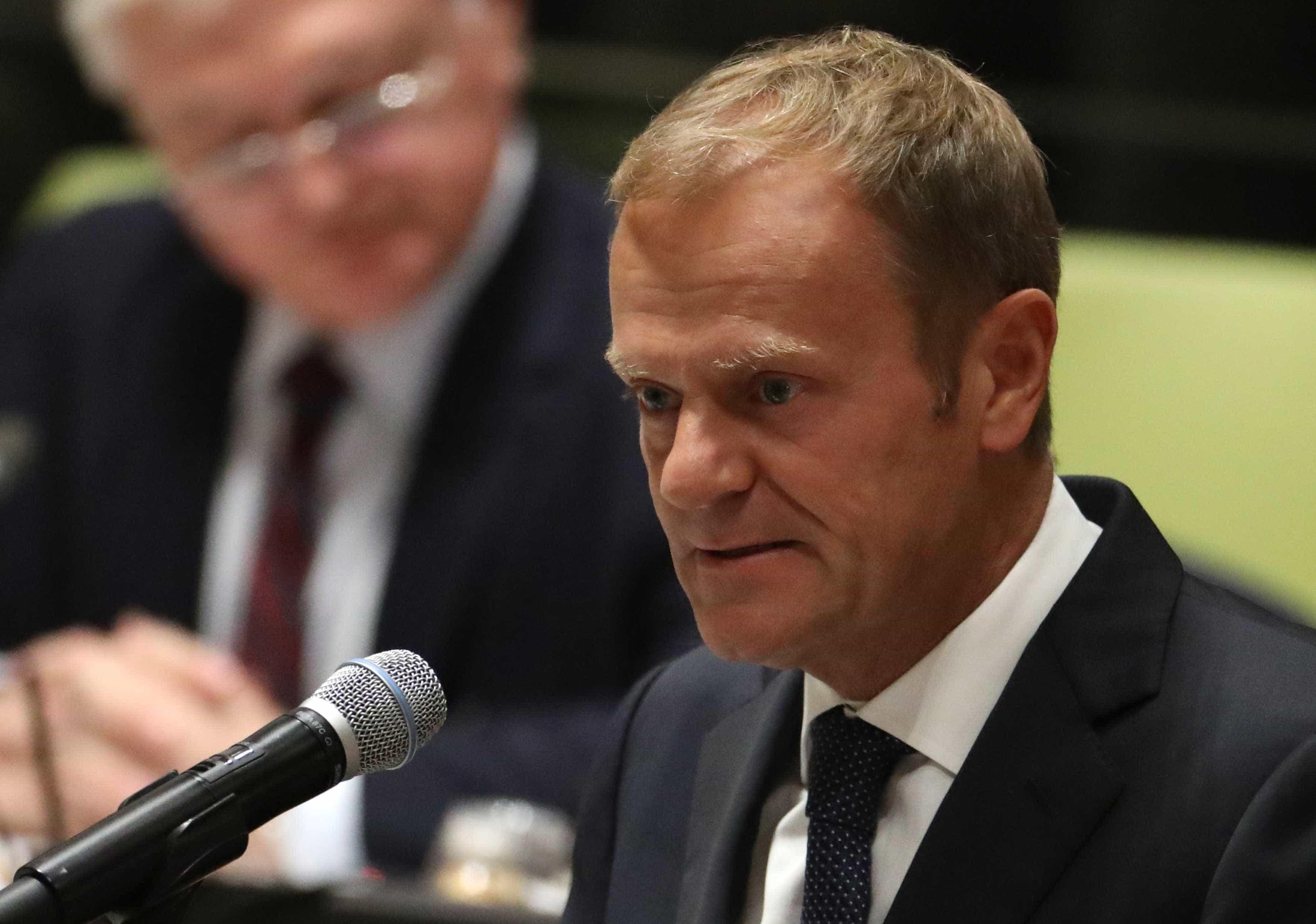 """Tusk diz que até 12 de abril """"tudo é possível"""" relativamente ao Brexit"""