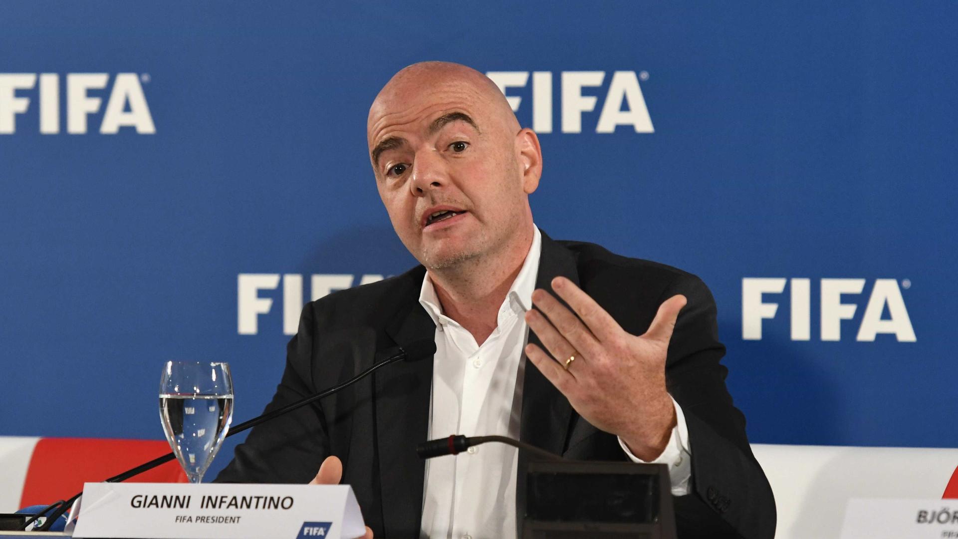 """Mundial a cada dois anos é tornar o futebol """"verdadeiramente global"""""""