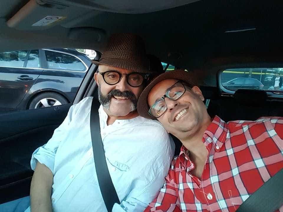 """Gonçalo Diniz recorda amigo: """"Um super beijo a ti meu amado João Ricardo"""""""