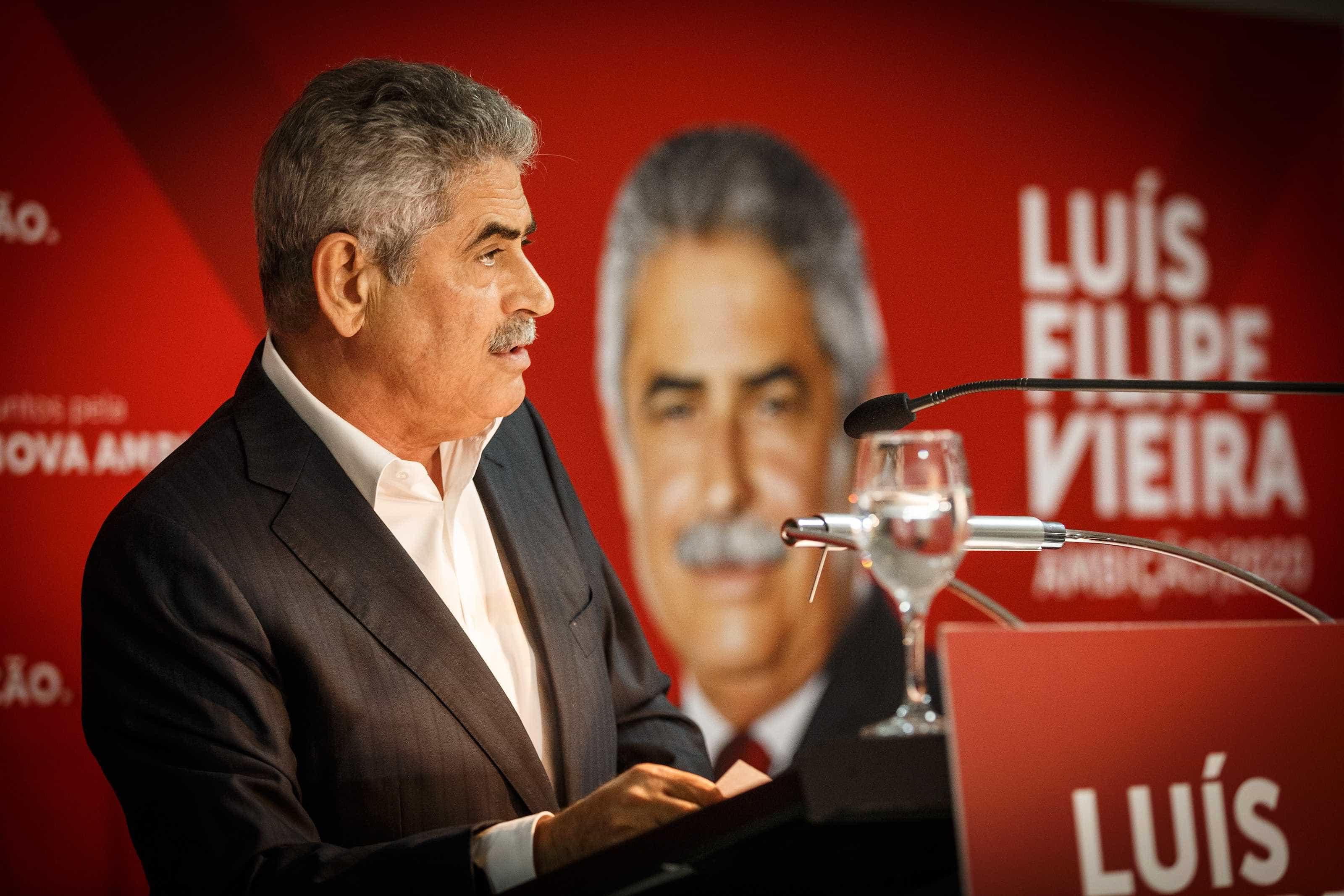 Luís Filipe Vieira não é arguido no caso dos emails. Palavra de PGR