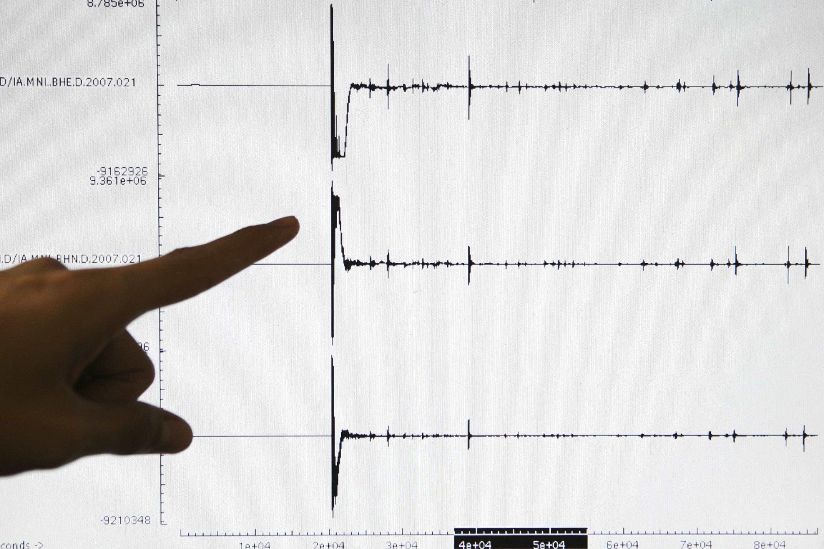 Sismo de 3.7 na escala de Richter sentido na ilha de São Miguel