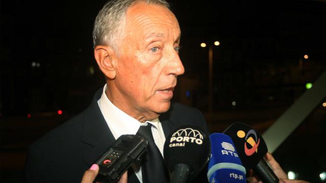"""Acidente: Marcelo vê """"com agrado"""" proposta de Costa para inquérito único"""