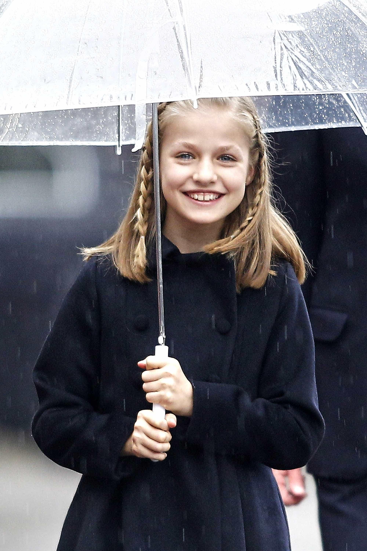 Reis de Espanha em festa: Princesa Leonor completa 13 anos