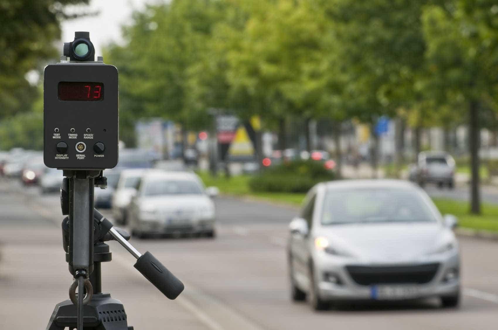 Radar apanhou 58 mil carros em excesso de velocidade em duas semanas