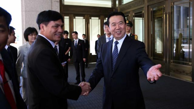 China confirma detenção do presidente da Interpol