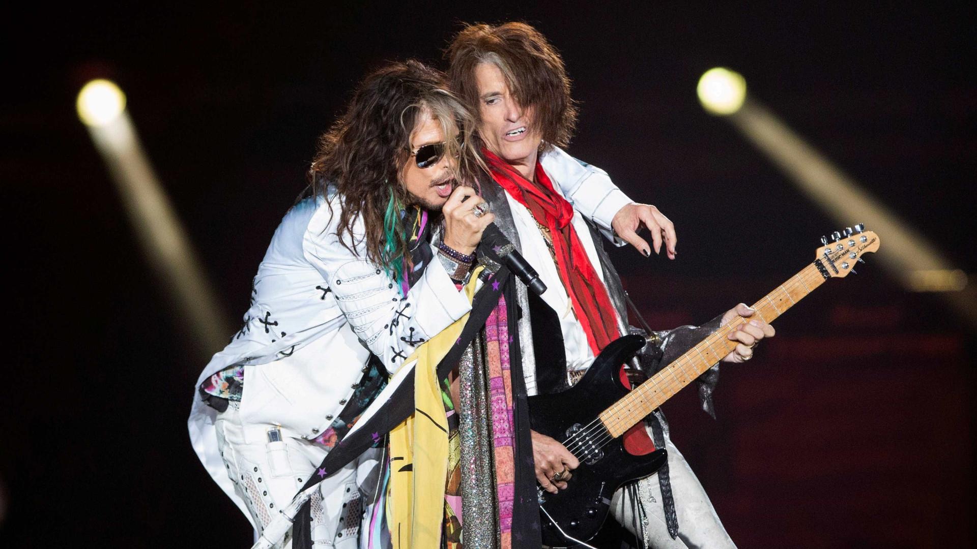 Concerto dos Aerosmith em Portugal adiado. Mas já há nova data