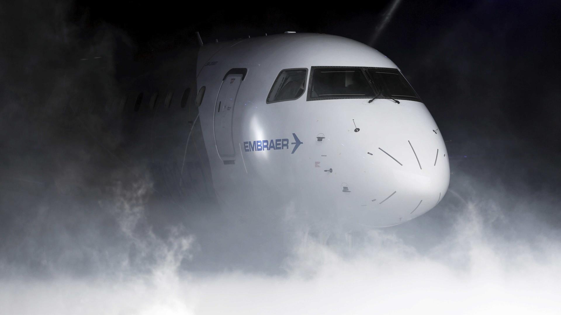 Embraer comemora entrega de 1.600 aeronaves comerciais em 20 anos