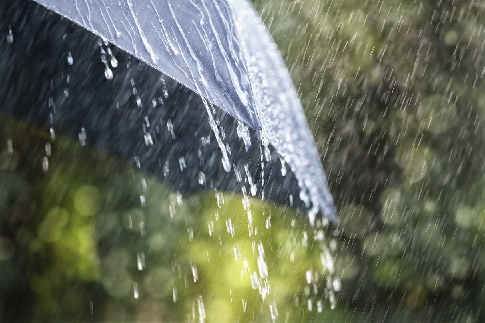 A chuva chega já no final da tarde de hoje. Temperaturas vão baixar