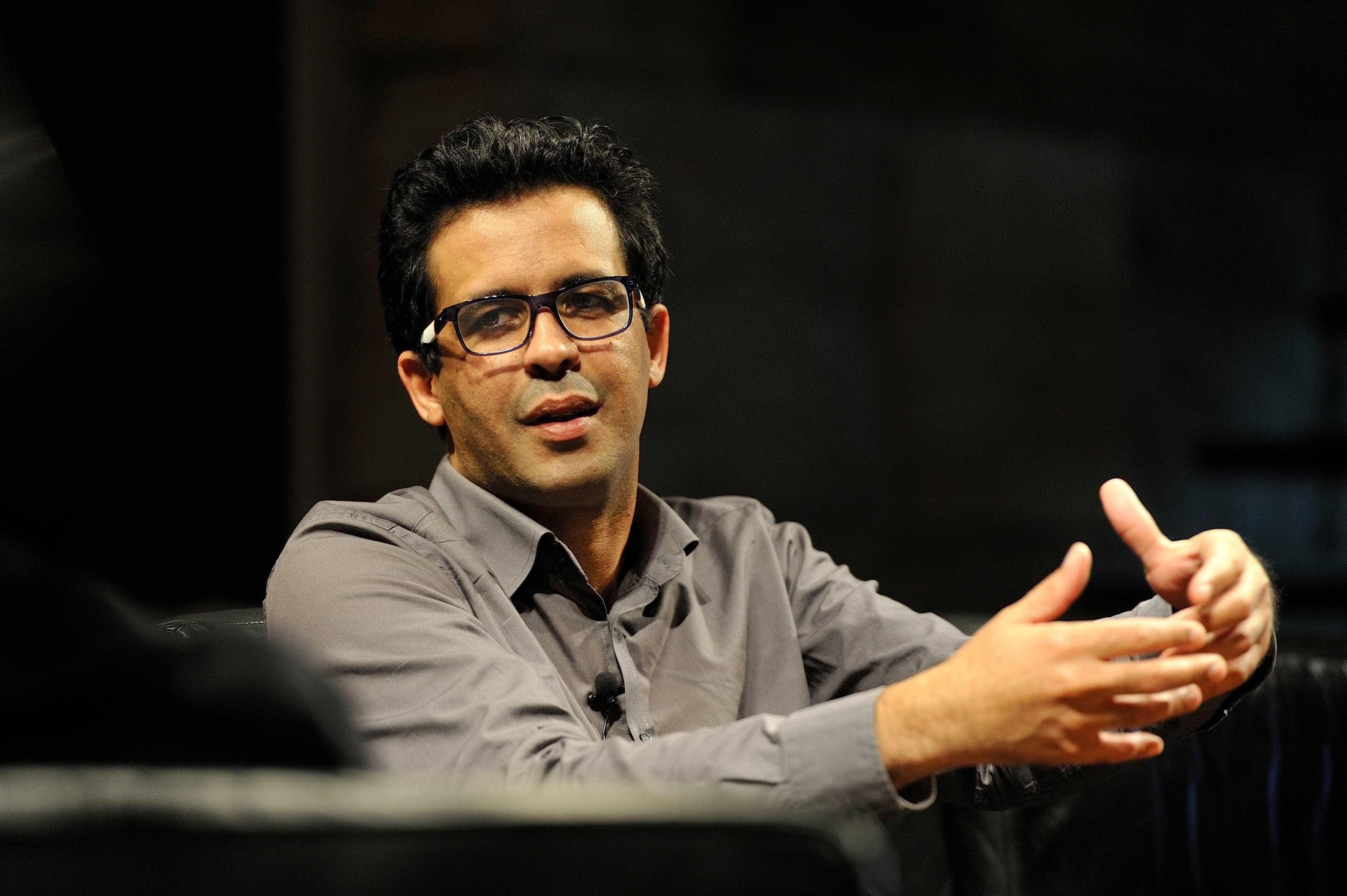 Bruno Vieira Amaral no festival literário de Macau de 2017