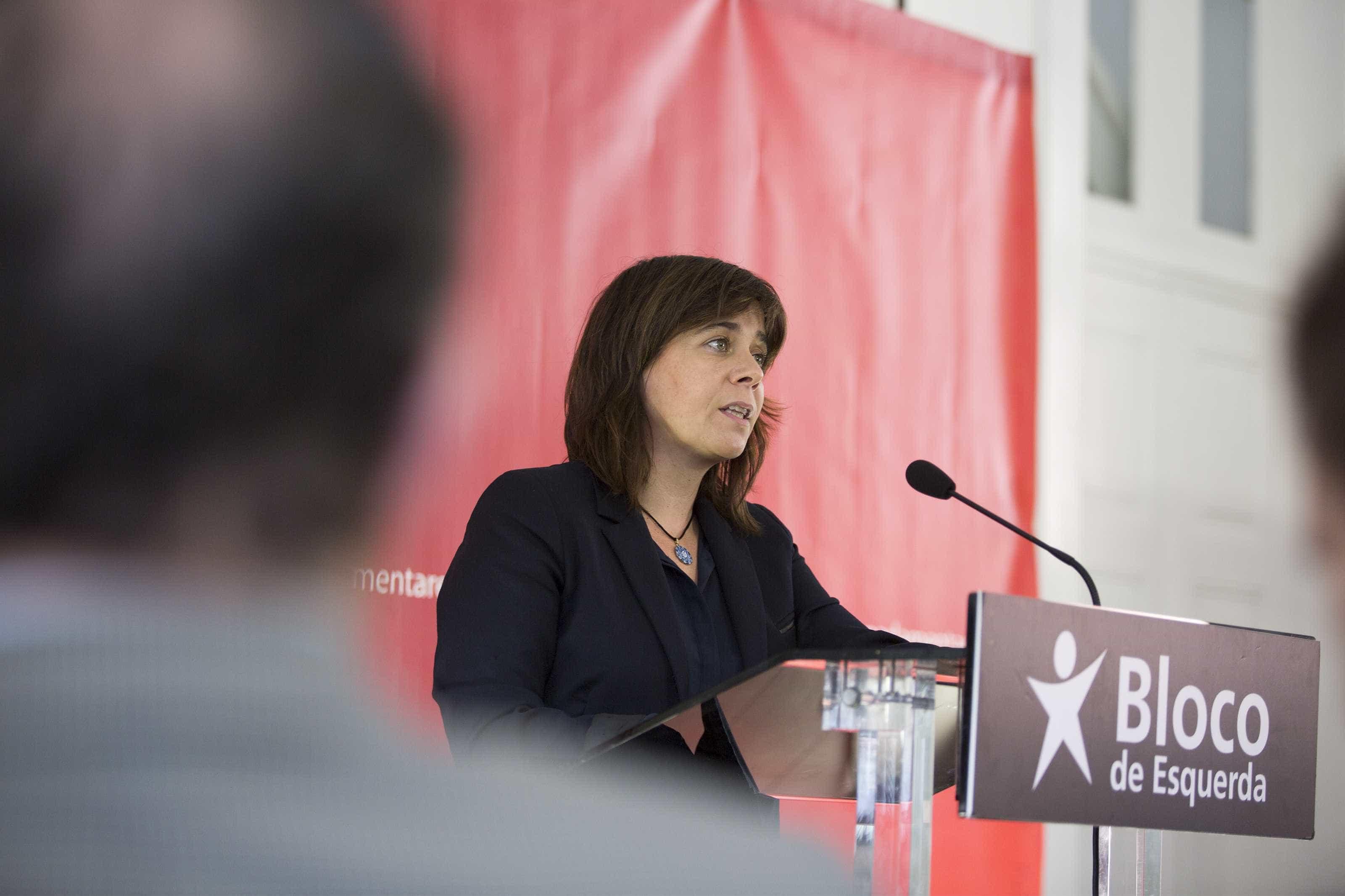 """Catarina Martins diz que Comissão Europeia """"tem falhado muitas vezes"""""""