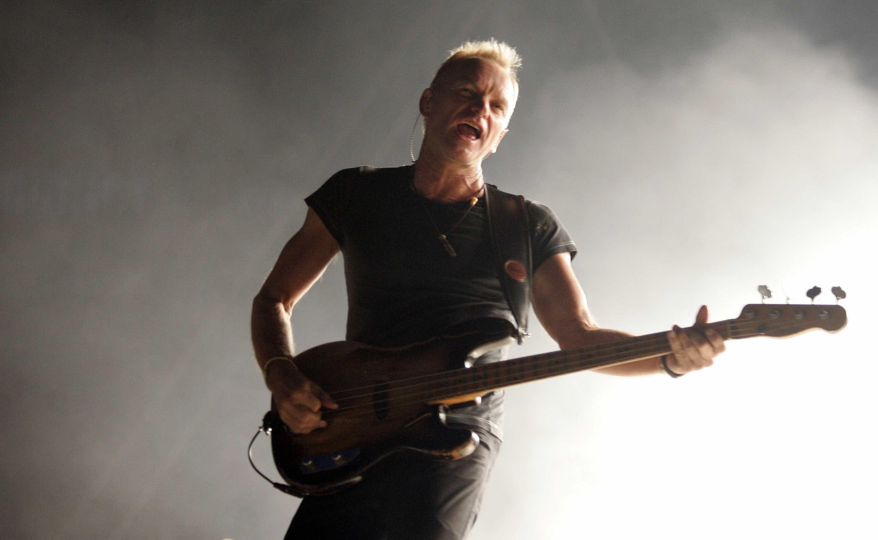 Sting é a primeira confirmação do Festival Marés Vivas para 2019