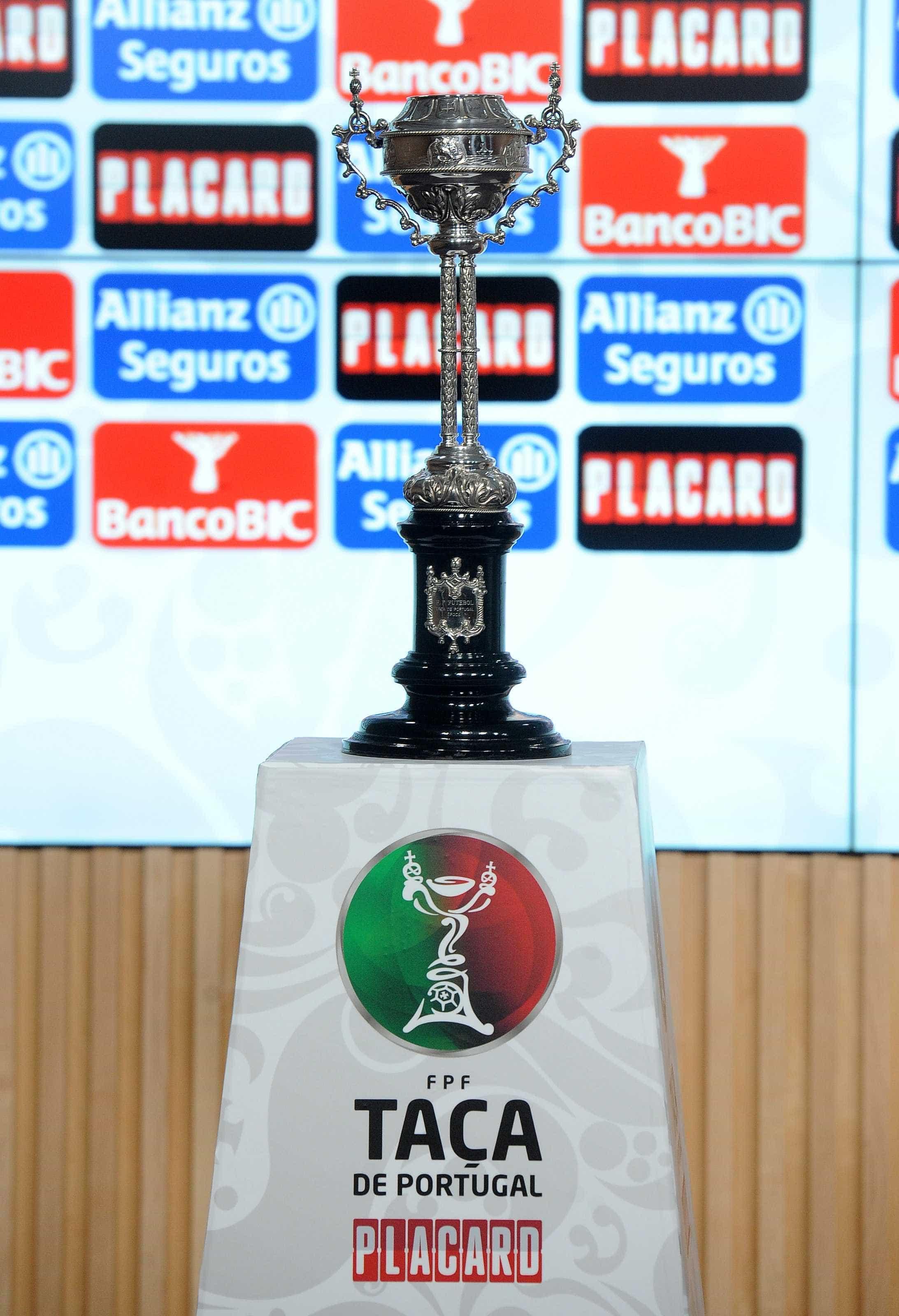 Taça de Portugal: Já são conhecidos todos os jogos da 3.ª eliminatória