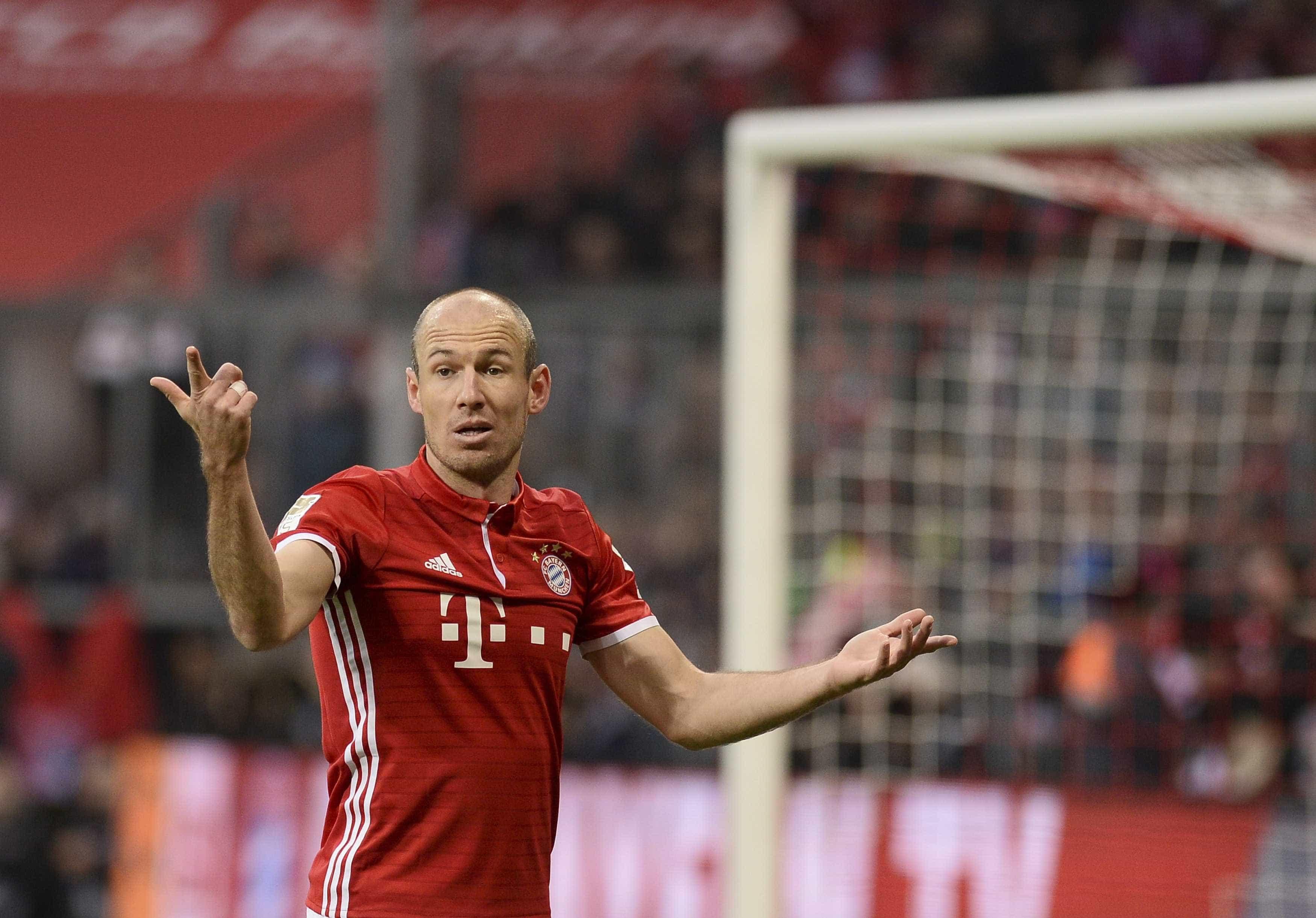 Bayern Munique já elegeu o sucessor de Arjen Robben