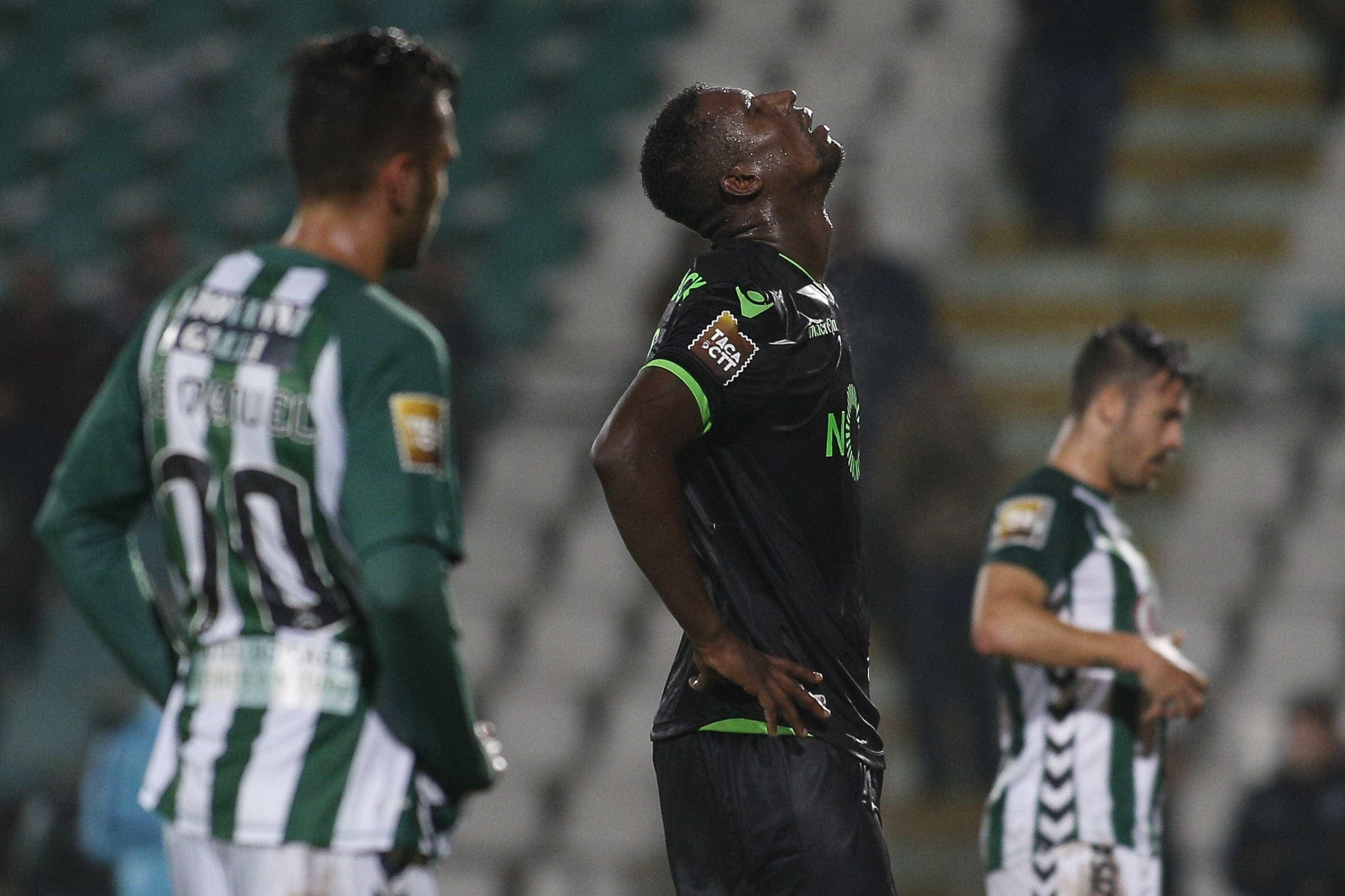 """Douglas arrasa Sporting: """"Trataram-me como um moleque de 15 anos"""""""