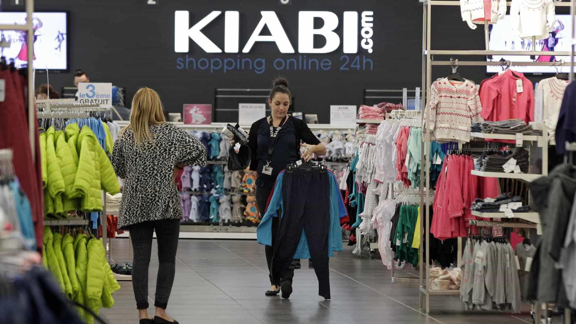 65cfc4abc11 Gigante francesa Kiabi chega pela primeira vez ao Grande Porto