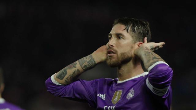 UEFA divulga sanção a Sergio Ramos. Dois jogos de castigo