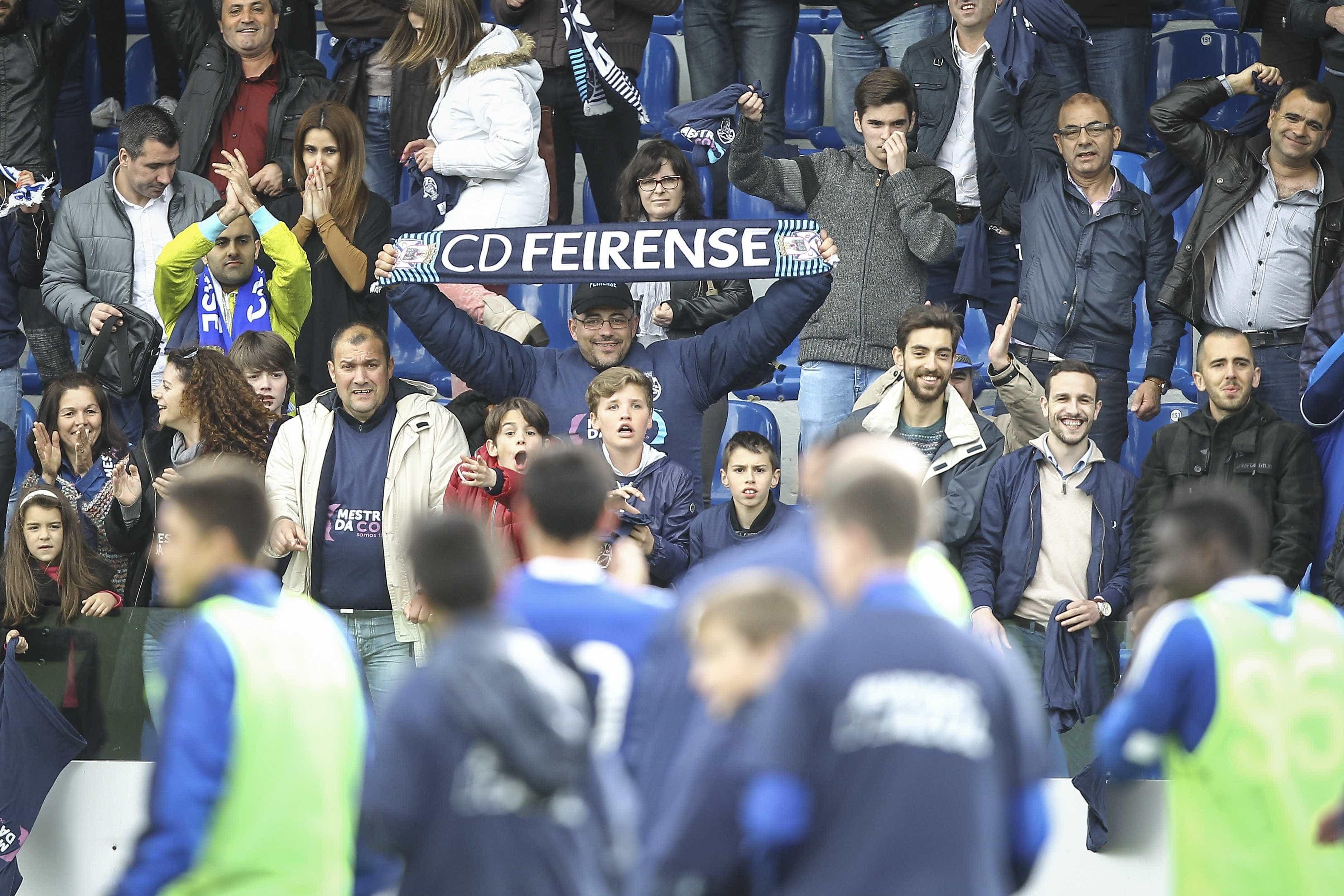 [0-1] Feirense-Sporting: Intervalo no Marcolino Castro