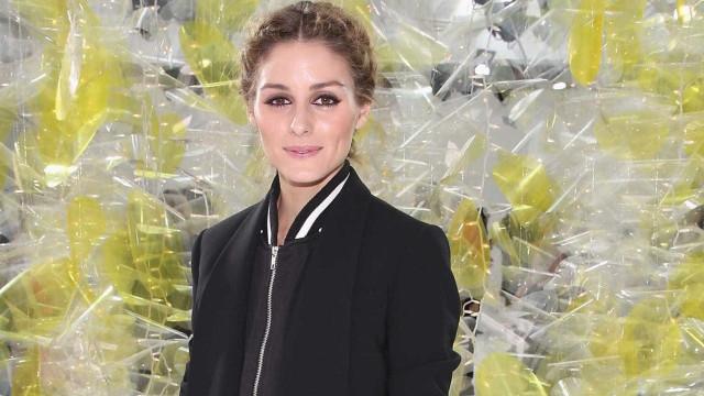 Olivia Palermo usa sapatos de marca portuguesa na Semana da Moda de Milão