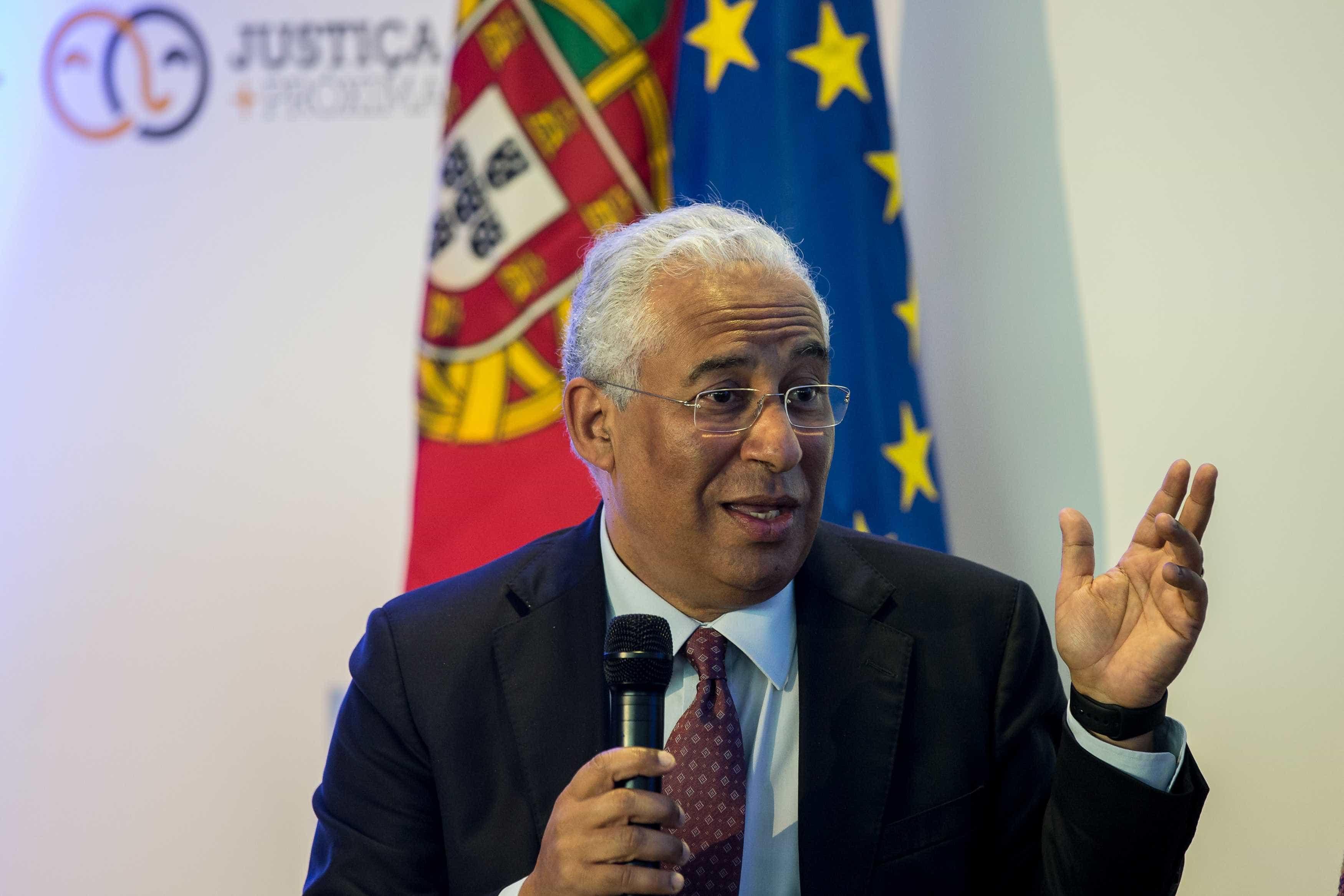 Violência doméstica: Costa reúne-se com comissão em dia de luto nacional