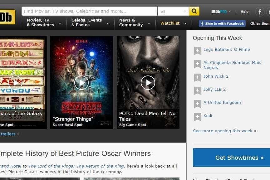 IMDB pode vir a lançar um concorrente da Netflix