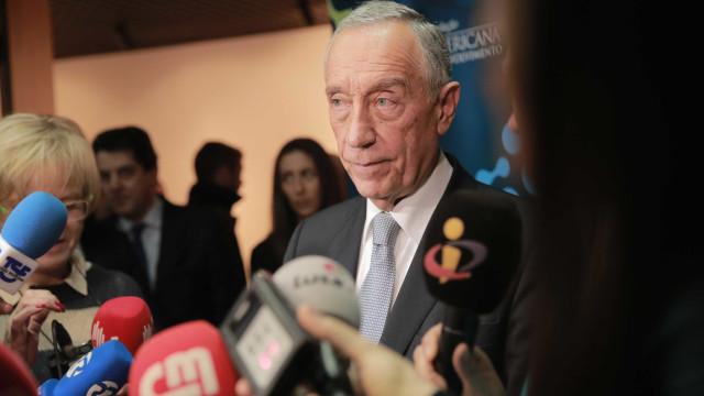 """Marcelo vai """"promulgar imediatamente"""" a 'lei-relâmpago' sobre o Brexit"""