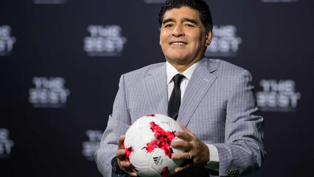"""Maradona: """"Ronaldo é um animal, pura potência e agora até bruxo"""""""
