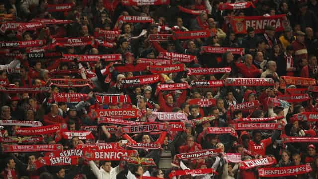 Benfica anuncia 'reforço' de bilhetes para a deslocação a Braga