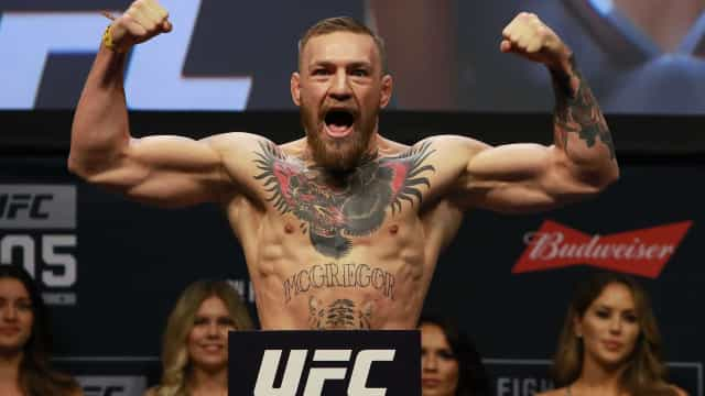 Conor McGregor compara-se a CR7 e deixa 'recado' a Ibrahimovic